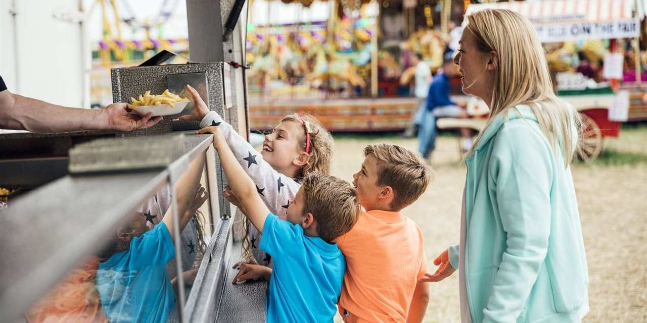 The country's favorite fair food by region