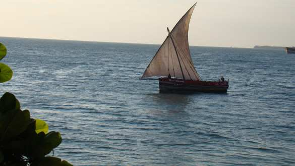 Zanzibar boat--Photo: Sandra Givens
