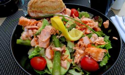 Enjoy This Incredible Salmon Avocado Salad Bone Healthy Recipe