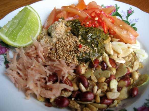 Myanmar Cuisine Laphet thoke