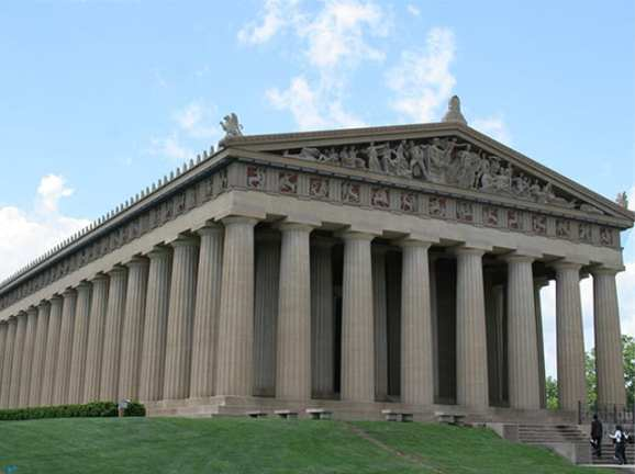 Parthenon by Earl Robbins