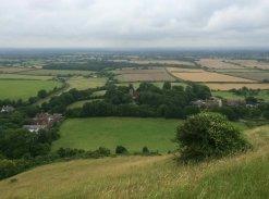 Fulking from Edburton Hill