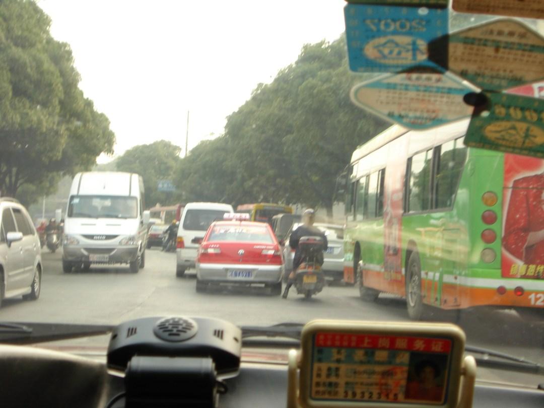 China Nanning Taxi