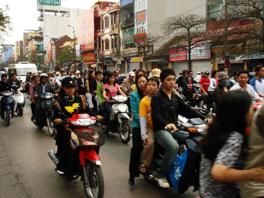 Vietnam Hanoi Street6
