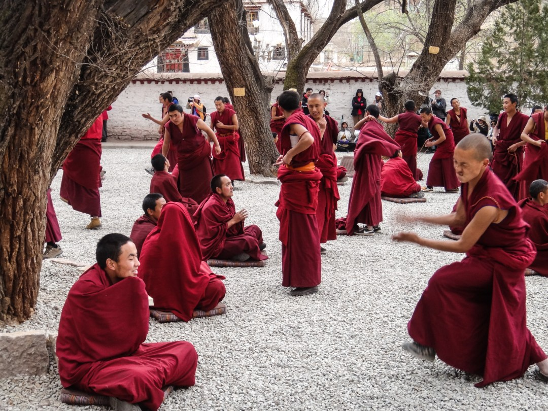 Debating Monks - Drepung