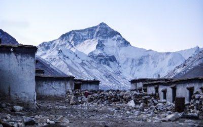 Across Tibet to Mount Everest, then overland to Kathmandu