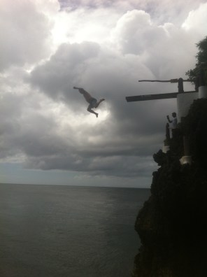 The highest jump!