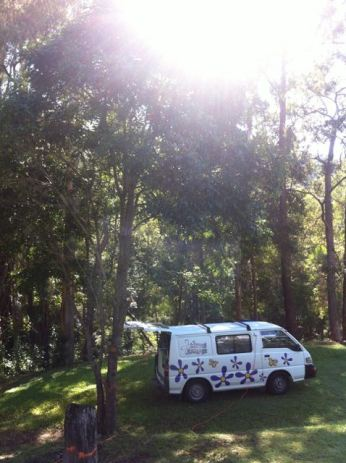 A beautiful spot to camp - just watch out for the huntsman spiders!