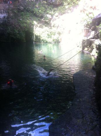 Ryan taking a dive....