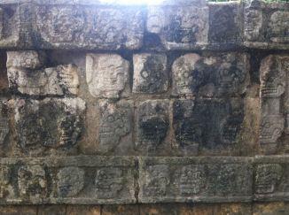 The 'skull wall'