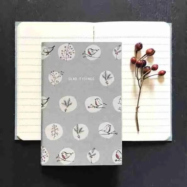 glad tidings Festive Notebook