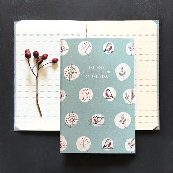 the most wonderful time of the year Festive notebook
