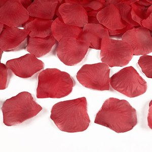 Finishing Touches- Fabric Rose Petals.