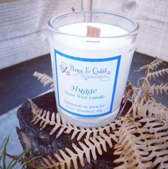 Hygge Wood Wick Candle