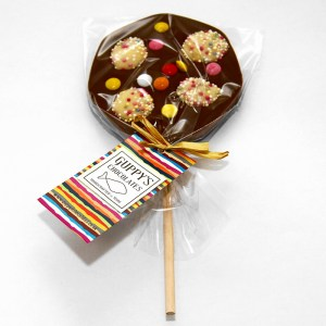 Milk Chocolate and Sweets Lolly
