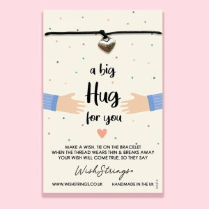 A big hug for you- Wish Bracelet