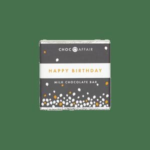 Happy Birthday- Milk Chocolate Bar