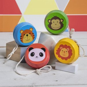 Wooden YoYo – Zoo Animals