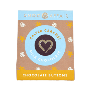 Salted Caramel Milk Chocolate Buttons