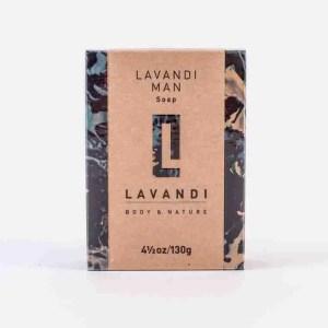 Organic Soap- Lavandi Man