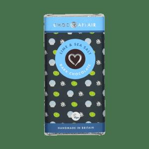 Lime & Sea Salt Dark Chocolate Bar