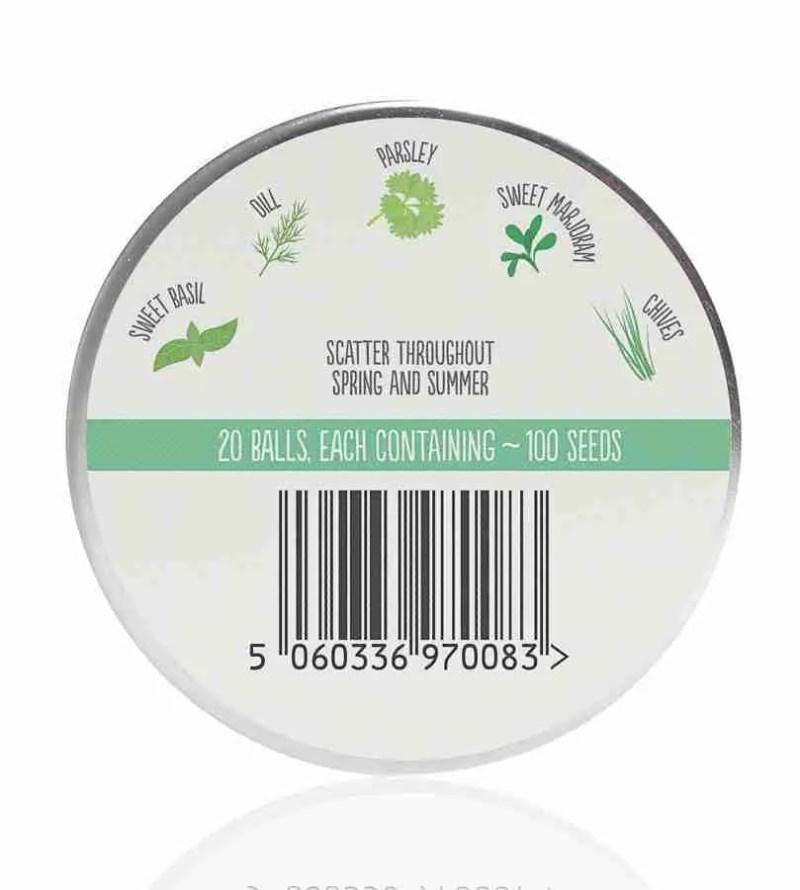 Herb Mix- Seedball