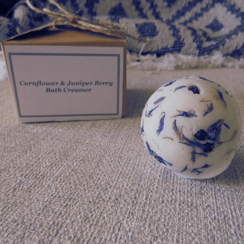 Cornflower & Juniper Berry Bath Creamer Gift Boxed