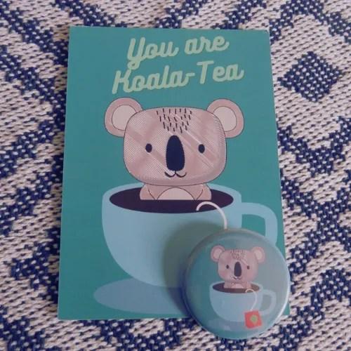 Joey Koala Card and Badge