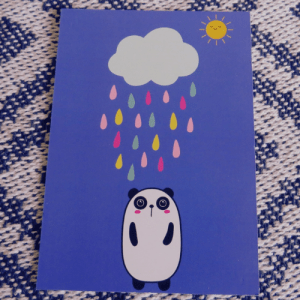Under The Weather- Postcard Print