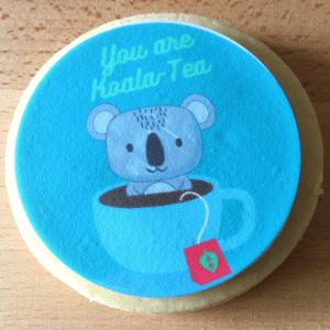 You Are Koala Tea- Shortbread Cookie