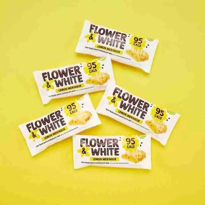 Flower and White - lemon meringue bar