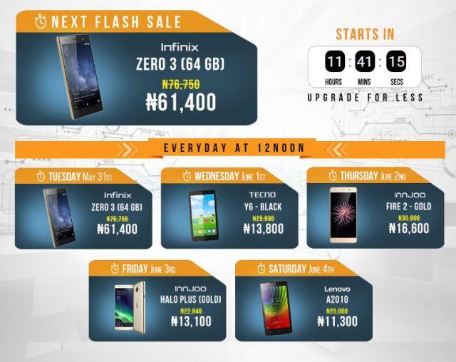 Jumia Mobile Week Flash Sale