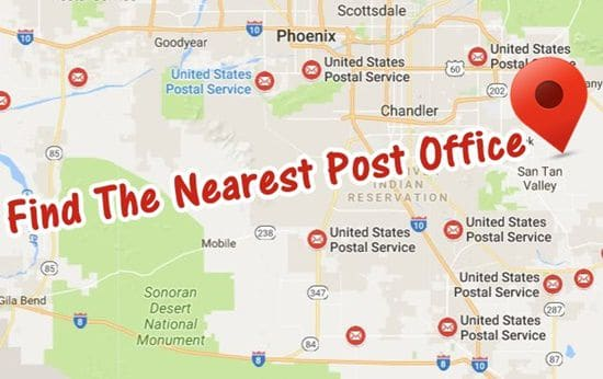 Find The Nearest Post Office in USA to Buy Stamps