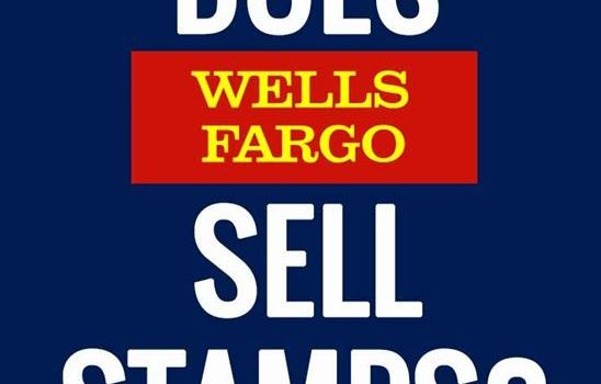 Does Wells Fargo Sell Stamps