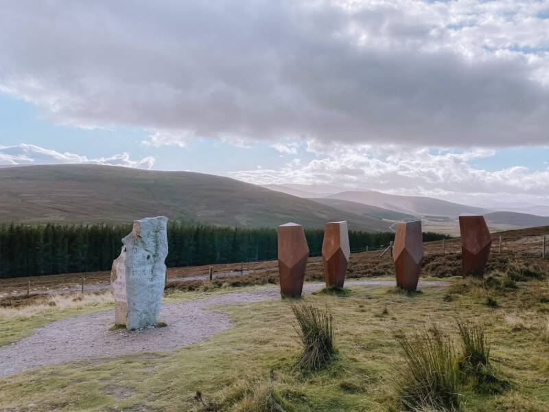 image of the Watchers in Cairngorms