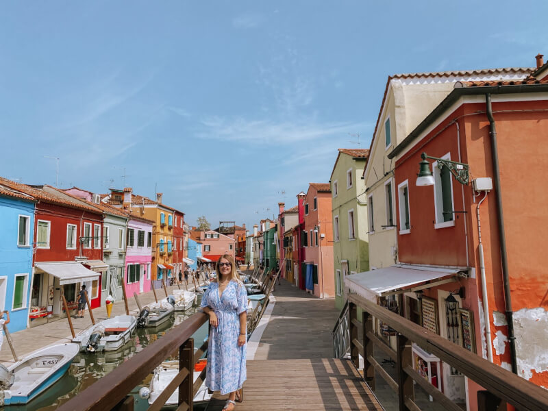 image of a day trip to Burano on 3 days in Venice