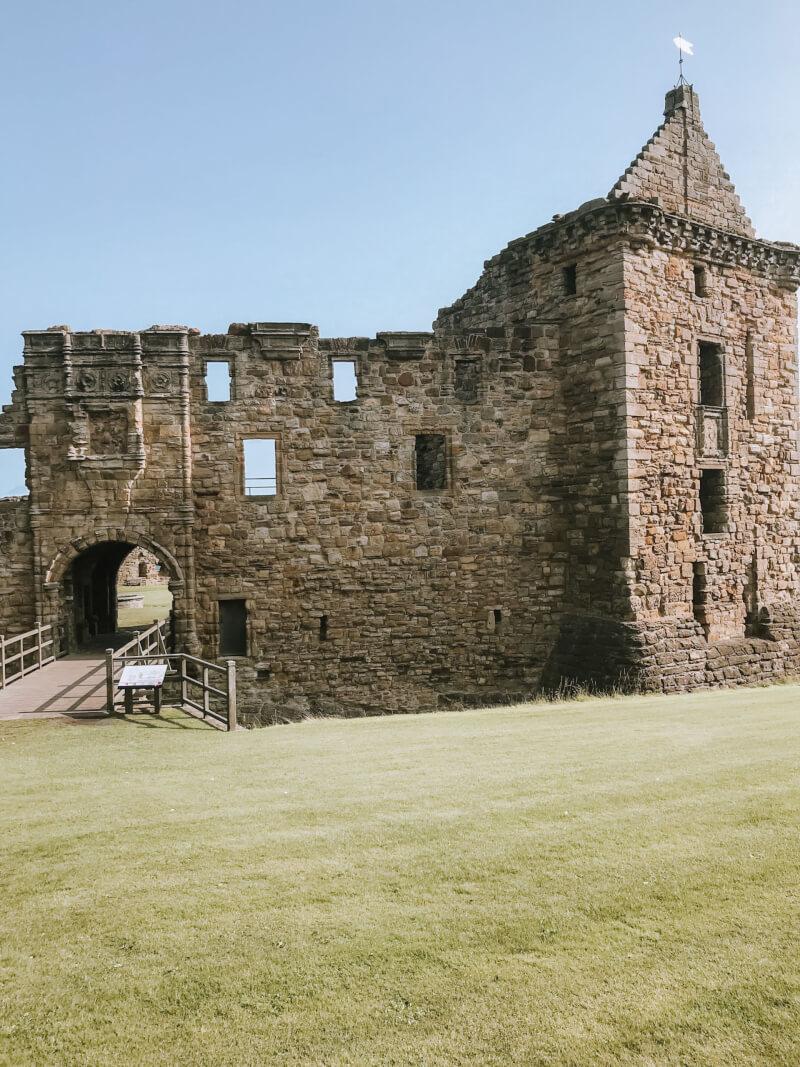 image of St Andrew's Castle, Scotland