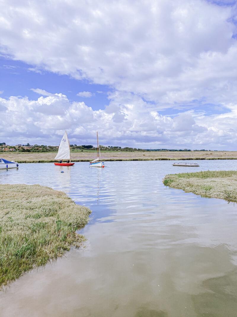 image of high tide in Blakeney