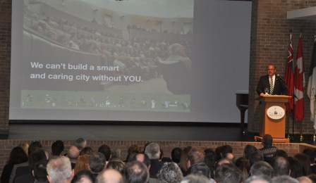 """Mayor Vrbanovic: """"We can't build a smart and caring city without you."""""""