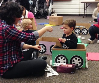 Toddler Box Party 2
