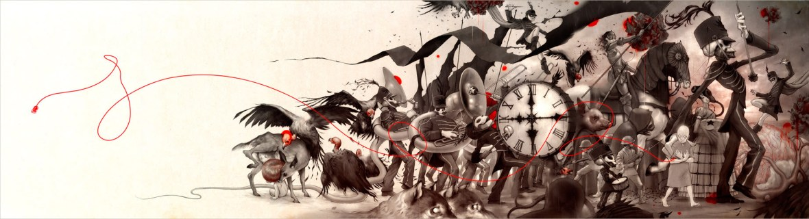 James Jean - The Black Parade