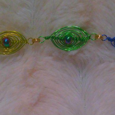 herringbone wire wrap