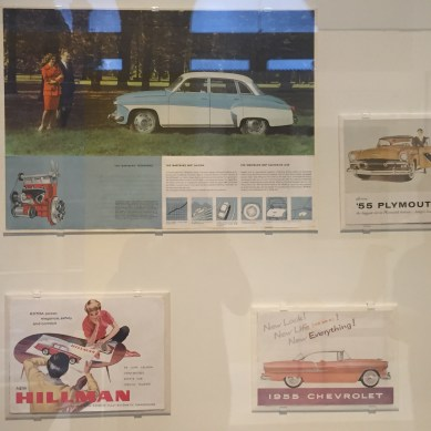 Car sale ads from the 50's