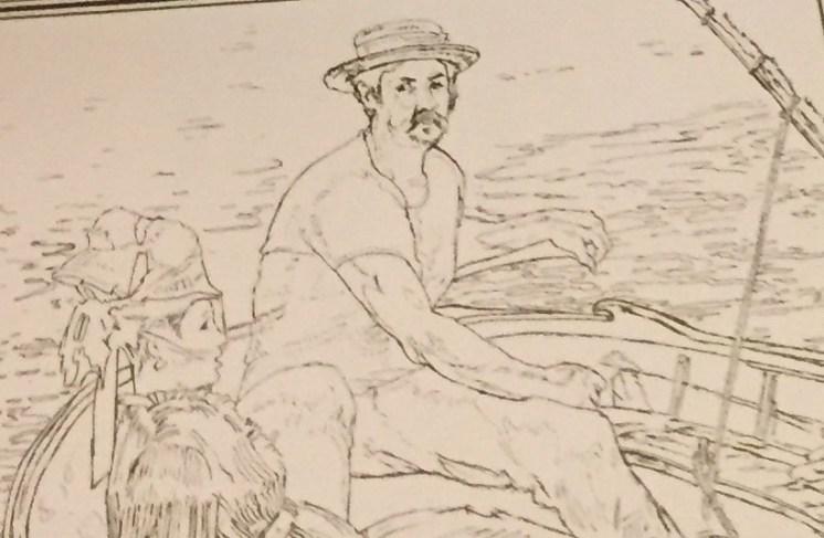 Edouard Manet Coloring Sheet