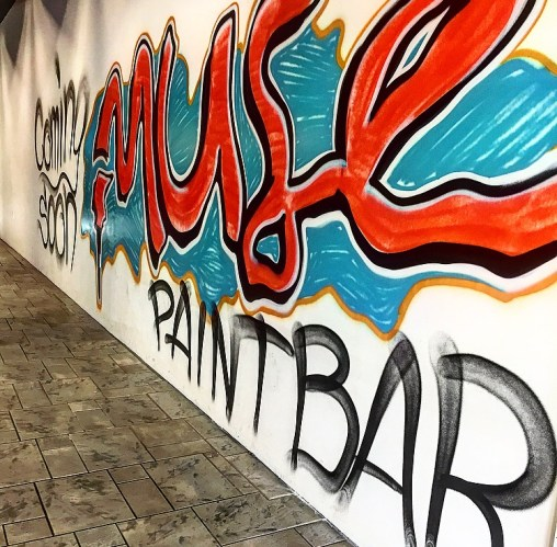 Coming Soon Muse Paint Bar