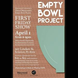 Empty Bowl Project flyer