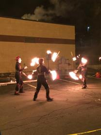 Fire Throwers