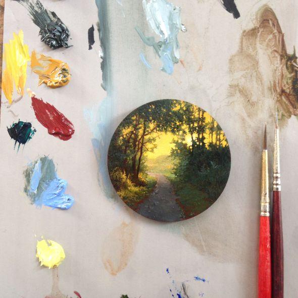 Mini Landscape Painting