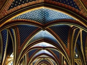 Ceiling of Saint Chapelle