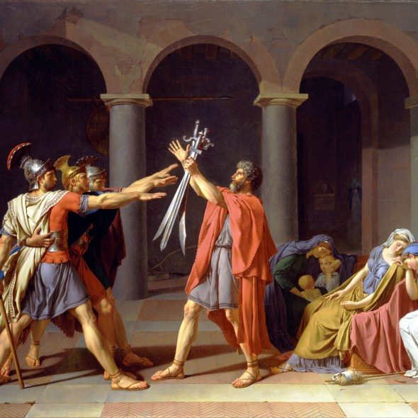 Oath of the Horatii painting